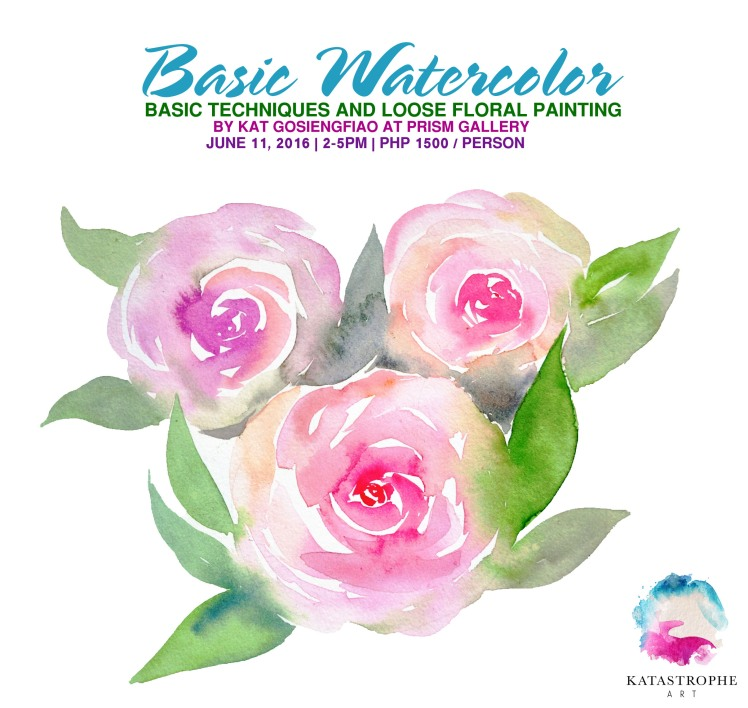 BASIC WATERCOLOR - FLORAL @ Prism