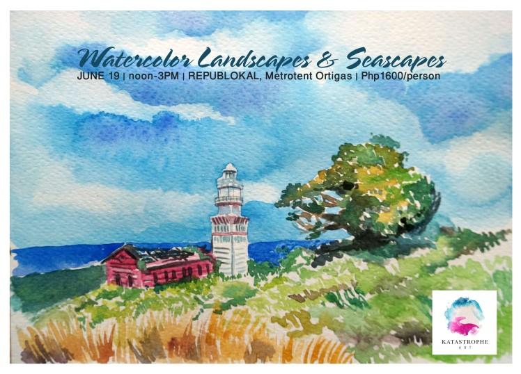 Republokal Landscape and seascape Poster