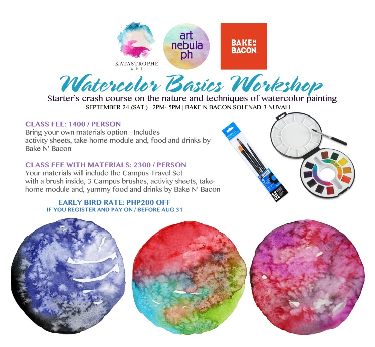 WATERCOLOR BASICS Bake N